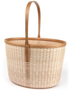 Eric Taylor's Cottage Towering Tote basket. erictaylorbasketry.com