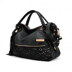 Fashion Leopard Print Bags One Shoulder Handbag Women's Handbag Leather Messenger Bag
