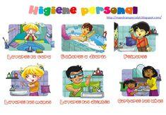 Higiene personal (1) - verbos en infinitivo
