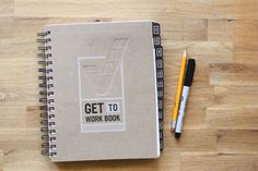 get to work book daily planner + goal setting workbook. Ordered and ready to put it to good USE! Organization And Management, Home Management Binder, Planner Organization, Organizing, Arc Planner, Planner Book, Goals Planner, Productivity Management, College Graduation Gifts