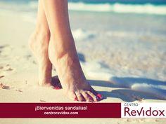 ¡Bienvenidas #sandalias!, Centro Revidox te trae todos los #trucos para tener tus #pies a punto y lucir sandalias esta temporada, descúbrelos aquí: http://www.actafarma.com/?p=3104