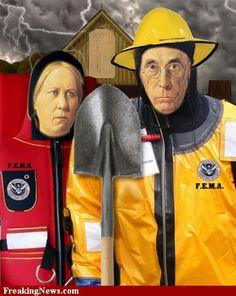American Gothic Hurricane Rescue Team