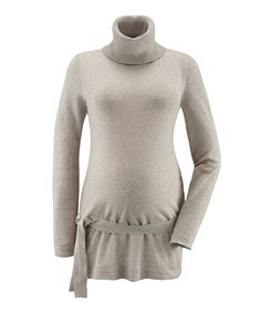 Sand Tassara Maternity Turtleneck Tunic    So lovely! Seriously, they have way better options now than when I was preggy!