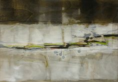 """""""Lichtwert"""", Painting, oil, drawing, pigmented shellac on wood, 2012, 42 x 60 cm Thorsten Dittrich"""