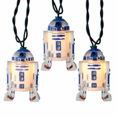 Kurt Adler UL 10-light Star Wars Plastic R2D2 Light Set - Overstock™ Shopping - Great Deals on Kurt Adler Seasonal Decor