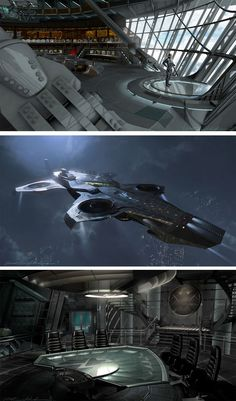 SHIELD helicarrier, by Nathan Schroeder || The Avengers || 736px × 1,251px || #conceptart