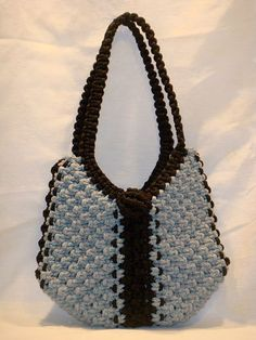 Macrame Medium Purse.