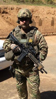 My ♡ belongs to a SWAT Sniper!