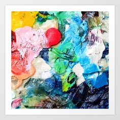 painting, bubbles, love, collage...