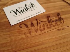 laser engraved bamboo cuttingboard Bamboo Cutting Board, Laser Engraving, Signage, Amsterdam, Arts And Crafts, Wood, Google, Woodwind Instrument, Timber Wood
