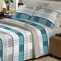 jogo-de-cama-duplo-king-escoces-nature-4-pecas-100-algodao-percal-180-fios-textil-guerreiro - Casa da Kite
