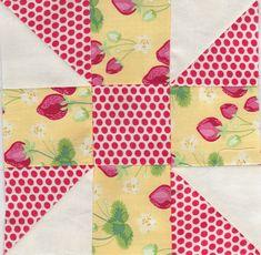 https://flic.kr/p/avZkGQ | Calico Puzzle - Farmer's wife quilt sampler | mypatchwork.wordpress.com/2011/10/15/farmers-wife-quilt-s...