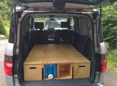 Another camping setup - Honda Element Owners Club Forum