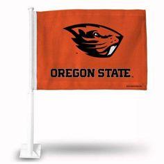 Oregon State Car Flag, Multicolor