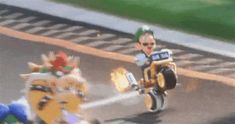 Luigi Is A Huge Jerk In The New Mario Kart <- this makes me want a wii u even more