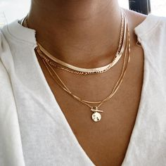 Golden Jewelry, Silver Jewelry, Golden Necklace, 14k Gold Necklace, Gold Filled Jewelry, Bling Jewelry, Sterling Silver Chains, Gold Chains, Cute Jewelry