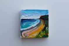 mini 4x4 acrylic on wood panel