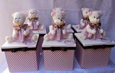 Caixas de MDF Decoradas com Biscuit