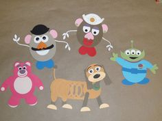 Toy Story punch art. Made with paper punches from Stampin' Up