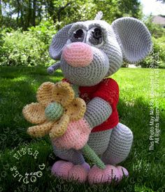 INSTANT DOWNLOAD : Mizithra the Mouse von FiberDoodlesbyK4TT