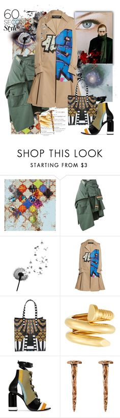 """The World We Live In"" by crazyzanyfake ❤ liked on Polyvore featuring Grandin Road, Faith Connexion, Junya Watanabe, Givenchy, David Webb, Pierre Hardy and Madina Visconti di Modrone"