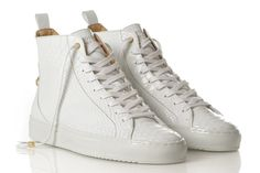 huge discount 08568 1bc79 ANDROID HOMME  Official online store streetwear White Shoes, High Tops,  Lanvin,