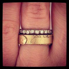 21st birthday present on the way #midas #diamond #eternityband #whitegold