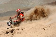 the dakar rally. one of the greatest endurance challenges of all time. much to be learned here.