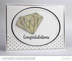 Congratulations Card by Julie Dinn