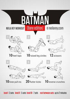 Batman [Bane Edition] Workout