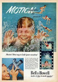 KEH Camera Blog: Vintage Camera Ads and Covers- Summer Fun (Part 3)