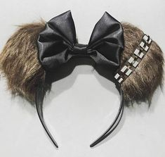 Star Wars-Inspired Minnie Mouse Ears (That You Wont Find at Disney World! Diy Mickey Mouse Ears, Diy Disney Ears, Disney Mickey Ears, Disney Dress Up, Disney Day, Disney Outfits, Disney Magic, Disney Star Wars, Disney Stars