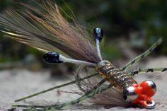 Saltwater shrimp fly tying instructions by Ruben Martin