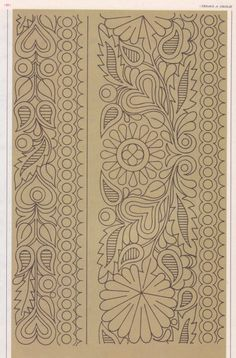 Border Embroidery Designs, Embroidery Motifs, Quilting Designs, Cross Stitch Embroidery, Longarm Quilting, Machine Quilting, Stencil, Kalamkari Painting, Whole Cloth Quilts