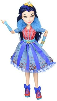 Disney Descendants Neon Lights Feature Evie of Isle of the Lost - Most Wanted Christmas Toys Disney Descendants Dolls, Disney Descendants 2, Disney Dolls, Disney Channel, Dc Superhero Girls Dolls, Pixar, Best Christmas Toys, Isle Of The Lost, Monster High Birthday
