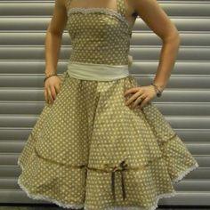 patron gratuit robe retro 50's / free pattern fifties dress