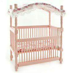 canopy cribs nursery - Google Search