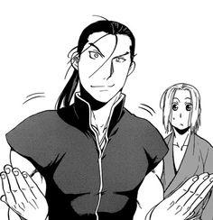 Daryun and Arslan.
