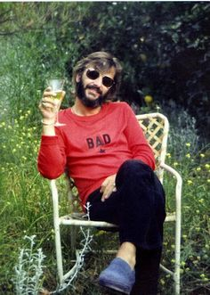 Ringo Starr ___ Beatles Drummer . Best pic ever !! :-)