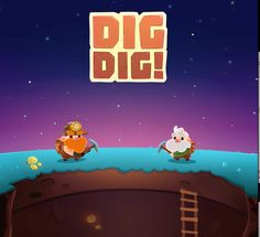 """Check out this @Behance project: """"2DAnimation_Dig Dig"""" https://www.behance.net/gallery/44846521/2DAnimation_Dig-Dig"""