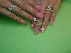 Ladybug Ladybug, Nails, Beauty, Jewelry, Finger Nails, Jewlery, Ongles, Jewerly, Schmuck