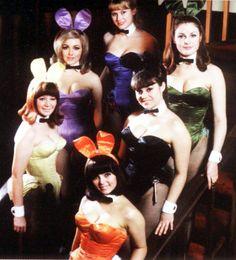 Bunnies.   Real women. NOT plastic
