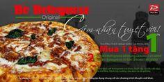 Khuyến mãi Pizza Rex mua 1 tặng 1