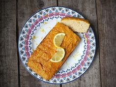 Lemon Drizzle Cake with Coconut Flour | Lucy Bee Coconut Oil