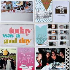 Week 26 right side by Alissa Fast using the Cocoa Daisy October kit, Blue Ridge, available NOW. Get our well-curated kit for $32.95 + S&H here: www.cocoadaisy.com #cocoadaisy #scrapbooking #kitclub #today #selfie #cratepaper #maggieholmes #DITL #PL #projectlife #lifedocumented  #gold #simplestories  #teresacollins #photography