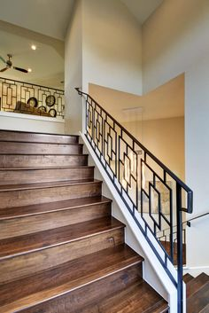 Wrought iron railing Mais