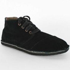 Toms - Womens Black Suede Desert Botas Shoes TOMS, http://www.amazon.com/dp/B007FJTYWY/ref=cm_sw_r_pi_dp_WfpCqb1T4PYMX