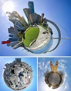 Pics of Little Planets: 30 Polar Panoramic Photographs