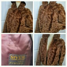 Glam up this Holiday with this gorgeous #vintage #furjacket #fashionista #glam #vintagefashion #ChicDeVintage1 #etsy
