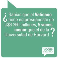 """Pieza VATICANO de la campaña viral """"¿Sabías que?"""" para Voces Católicas Argentina."""